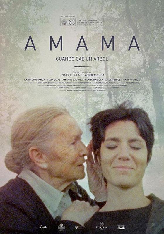 Cartel del largometraje Amama