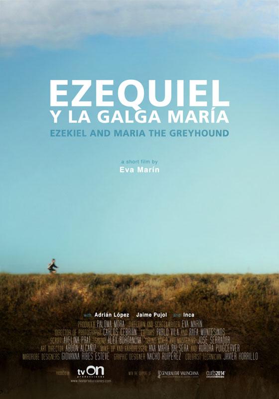 Cartel de la película Ezequiel y la galga María