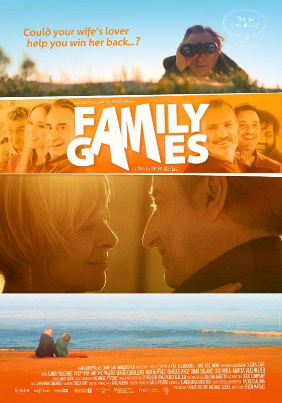 Cartel de la película Juegos de Familia