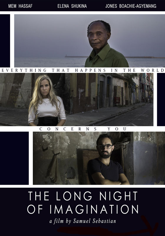 Poster del largometraje The Long Night of Imagination