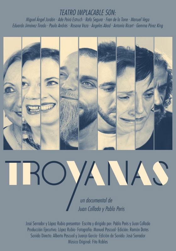 Cartel de la película Troyanas